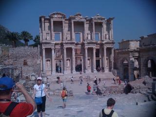 Ephesus Library.