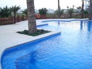 One of many communal pools.