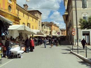 Saturday Morning market in Pergola