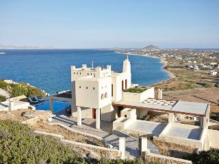 Villa Tower on the beach Villa Paradise Plaka-Naxos