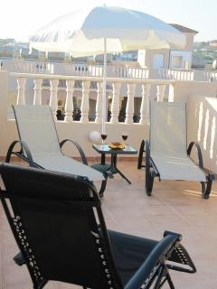Enjoy peace & quiet on your personal sun terrace