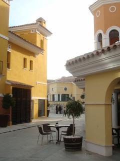 La Torre town centre.