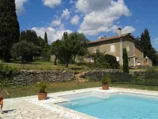 Stone farmhouse near Anduze South of France
