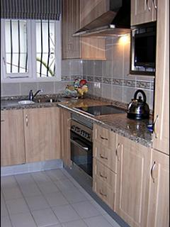 Brand new fabulously equipped kitchen