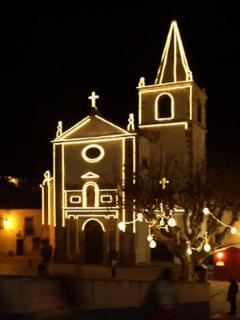 Christmas time in the fairytale town of obidos...