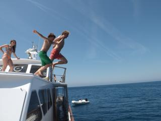 Deramore classic motor yacht, Punta Ala