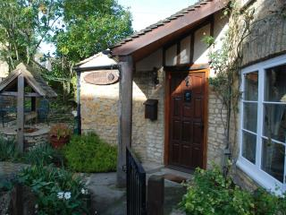 Welcome! - entrance to Well Cottage via gate