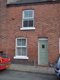 Front of Pixie Terrace Chester