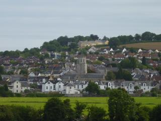 Lovely views, including of Colyton.