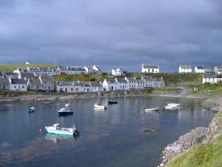 View from King Street into Portnahaven Bay