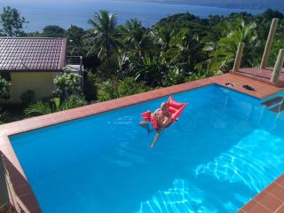 cool down or plunge in the big pool direct beside your terrace..