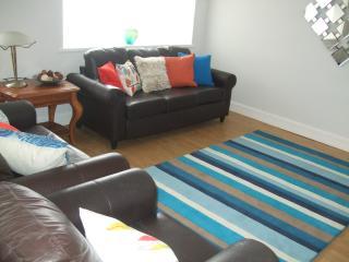 Living/dinning room at Nia Roo, Bowmore, Islay
