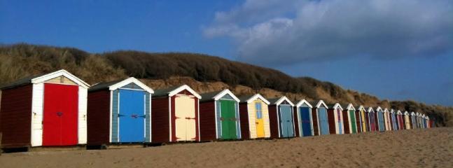 Saunton beach huts