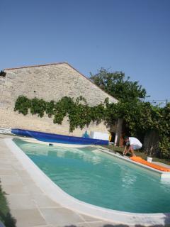 Large luxury swimming pool