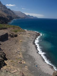 playa de Guayedra y costa Norte