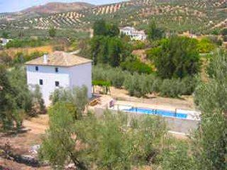 A glimpse of Casa Ava and the surrounding land and countryside