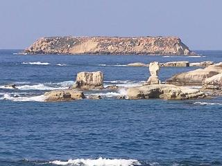 Walk along the Sea Caves Coast for beautiful views of St George's Island and Harbour
