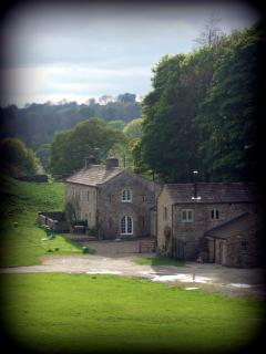 Stunning views across the dales and to the river.