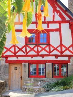 Nearby medieval town of Guemene-sur-Scorff