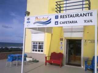 Entrada do Restaurante Praia Azul