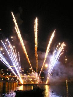 Fireworks on the Hoe