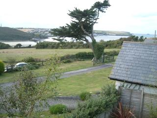 The Amazing View from the sitting room bi-fold doors.