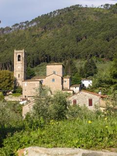 A view of Sant'Andrea di CompitoVillage