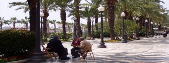 promenade in Alicante