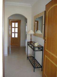 Hallway to apartment