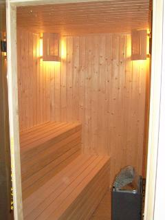 Sauna - perfect to unwind after a day on the slopes