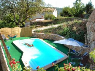 Cottage- Salernes, Provence, 86m2, swimming pool 4,5x8 4300 m2 typical landscape