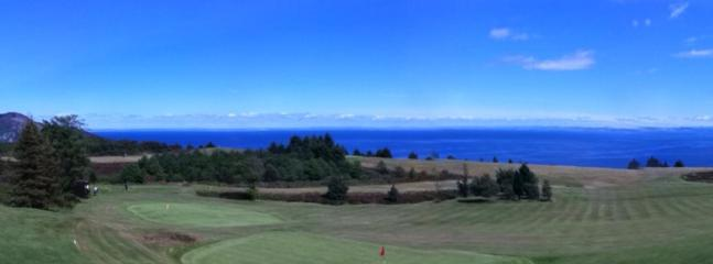 View from Whiting Bay Golf Course