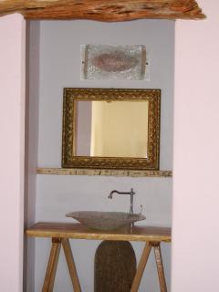 Il lavandino in vetro