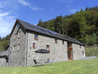 Gwedd y Glyn Holiday Barn, Llanwrtyd Wells