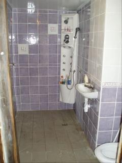 hydro-wet room, perfect for relaxing after that long walk