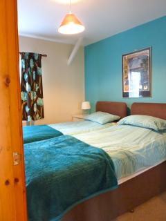 Penyberth blue twin bedroom