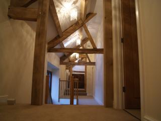 Landing Area with Exposed Oak Beams