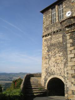 Usson, one of France's most beautiful villages