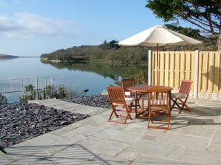 Abergafren Beach Lodge, seclusion, fabulous views across the estuary, unique