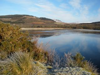 Looking across the loch