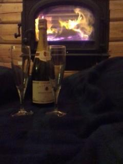 For those cozy romantic winter champagne evenings. Logs come free, but not the champagne!!