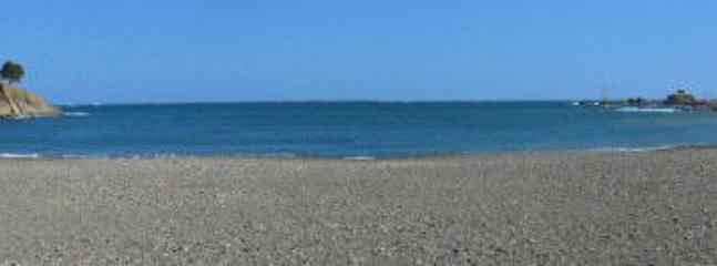 Banyuls bay and beach