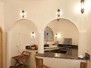 Kitchen ground floor/basement Riad DAR BÔ