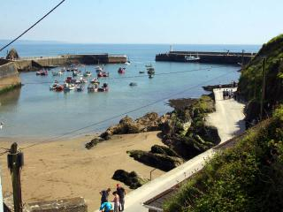 Polkirt Forge - Holiday Cottage overlooking Mevagissey Harbour