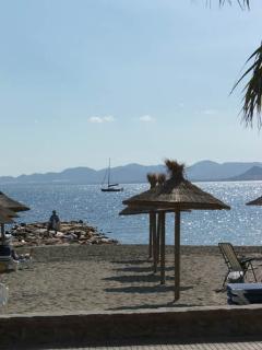 Mar Menor seafront.