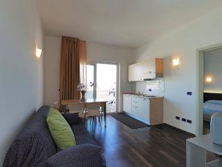Vista appartamento salotto - cucina