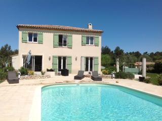 Bastide from the pool
