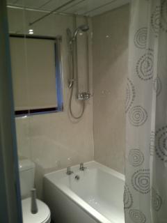 New Bathroom Suite with Mixer Shower