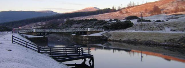 Moy Bridge on the Caledonian Canal