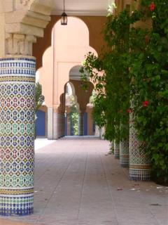 Moroccan Architecture into the residence